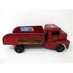1950s Structo Tow Service & Scrap Truck