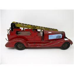 1940s RareMarxExtension Ladder Fire Truck