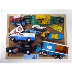 14 Assorted Die Cast Vehicles