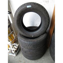 4 Goodyear Wrangler Tires - P265/65R18