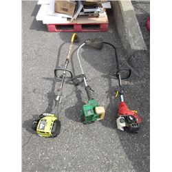 3 Gas Powered Weed Trimmers