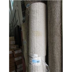 6 Foot x 8 Foot Beige Area Carpet - Store Return