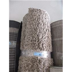 8' x 10' Brown Shag Area Carpet -Store Return