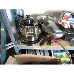 10 Assorted Pots & Pans - Store Returns