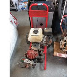 Pressure Washer with Honda Engine