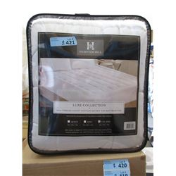 New California King Size Cotton Mattress Pad