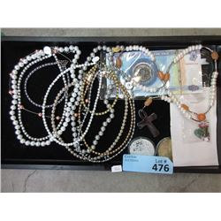 Tray of Gemstones, and New Necklaces