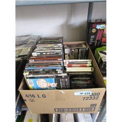 40+ DVD Movies & Music CDs