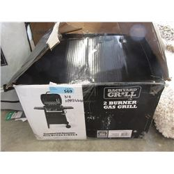 2 Burner Gas Grill - Store Return