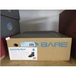 New Bare Kermode Grey Rubber Boot - Size 8