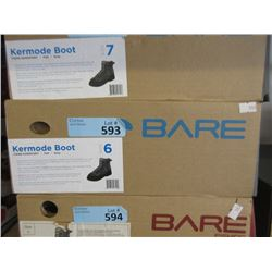 New Bare Kermode Grey Felt Boot - Size 6