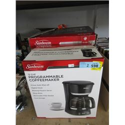Coffeemaker & Queen Heated Mattress Pad