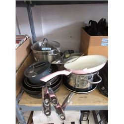 12 Assorted Pieces of Cookware - Store Return