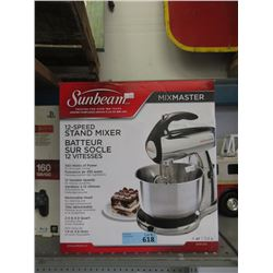 Sunbeam 12 Speed Stand Mixer - Store Return
