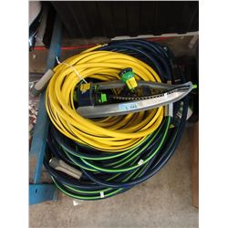 5 Piece Lot of Hoses & Sprinklers