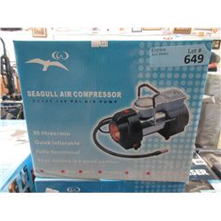 New Seagull 140 psi 35 Liter Air Pump