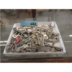 Box of Assorted Metal Keys