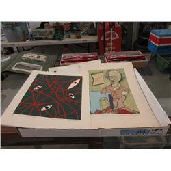 32 Unframed Ltd Edition Prints -4 Different Images