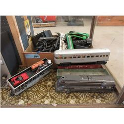 HO & O Scale Train Cars & Track
