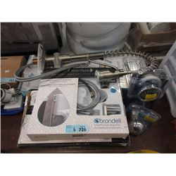 6 Assorted Taps & Shower Heads - Store Returns