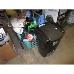Step Can & Bin of Toys & More - Store Returns