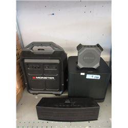Amplifier & 3 Speakers - Store Returns