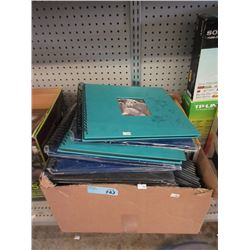 Box of Assorted New Photo Albums