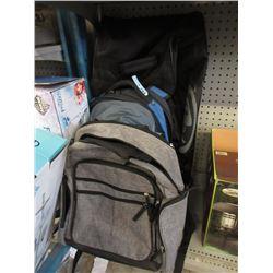 Gym Bag & 3 Back Packs