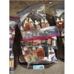 3 Bags of Assorted e-cigarette Juice