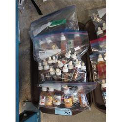 3 Bags of Assorted e-cigarette Juice