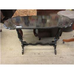 Vintage Wood Hall Table