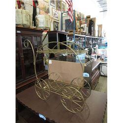 Metal Tea Cart Plant Stand
