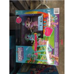 6 New Fingerlings Monkeybar Playsets