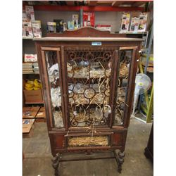 China Cabinet Converted to a Chicken Coop