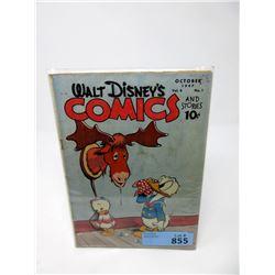 1947 Walt Disney's Comics & Stories #1 Comic