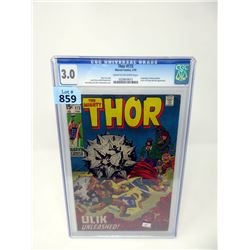 """Graded 1970 """"The Might Thor #173""""  Marvel Comic"""