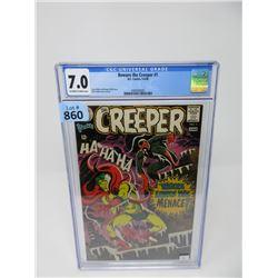 """Graded 1968 """"Beware the Creeper #1"""" DC Comic"""