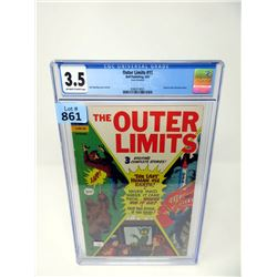 """Graded 1967  """"The Outer Limits #15"""" Dell Comic"""