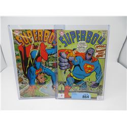 "Two 1967 ""Superboy"" 12¢ DC Comics - #142 & #143"