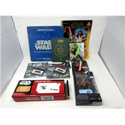 10 Piece Lot of Star Wars Collectables