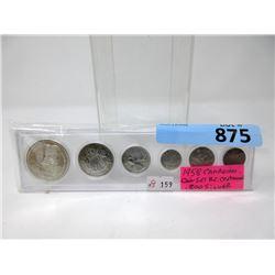 1958 BC Centennial 80% Silver Coin Set