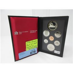 1986 Canadian Double Dollar Proof Coin Set