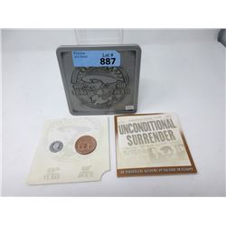 60th Anniversary of VE Day Sealed Coin Set