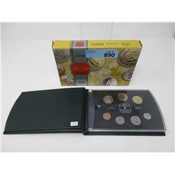 2002 Canadian Mint Specimen Coin Set