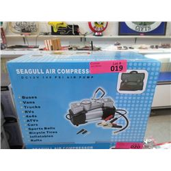 New Seagull 12 Volt 140 psi Air Compressor