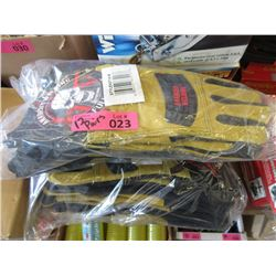 12 Pairs of Medium Size Anarchy Welding Gloves