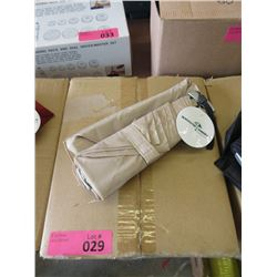 Case of 12 New Compact Beige Umbrellas