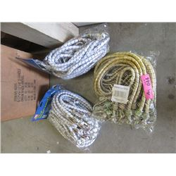 "3 Bundles of 12 New 36"" Bungie Cords"