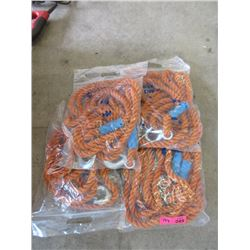 4 New Nylon Tow Ropes