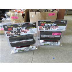 2 New 300 Watt Auto AC Inverters